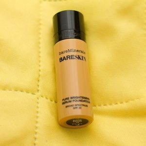 Bareskin Brightening Serum Foundation Bare Sand